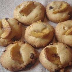 Chocolate and Banana Cookies