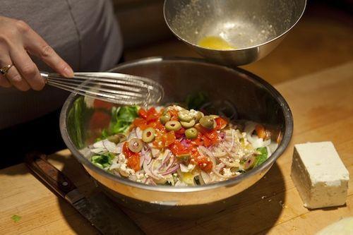 Greek Salad with Fennel