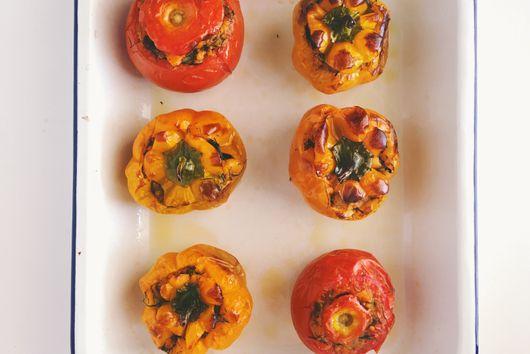 Sweet Potato and Dill Gemista