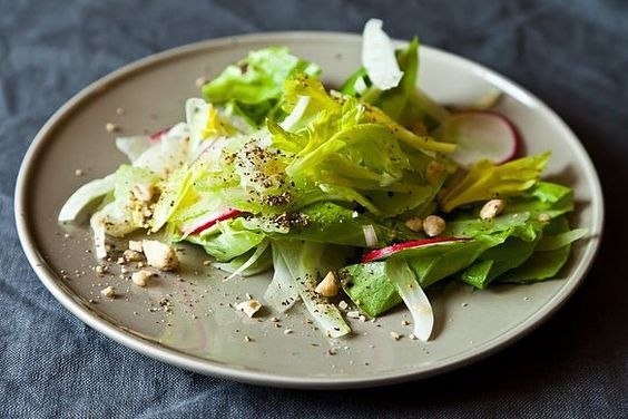 Shaved Celery and Fennel Salad