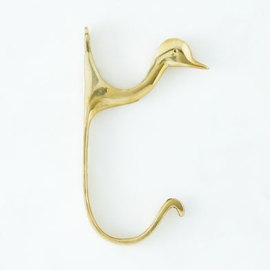 Brass Duck Hook
