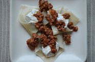 Afghan Dumplings with Lamb Kofta and Yogurt Sauce