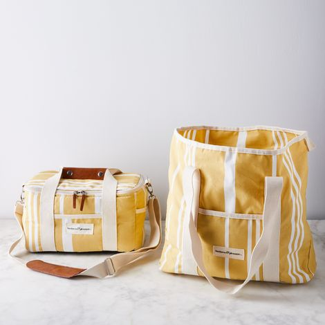 French Riviera Beach Bag & Cooler