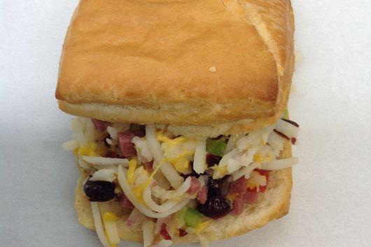 Cranberry Breakfast Sandwich