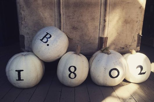 Real Solutions: Use Pumpkins as House Markers