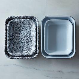 Enamel Roasting Pans (Set of 2)