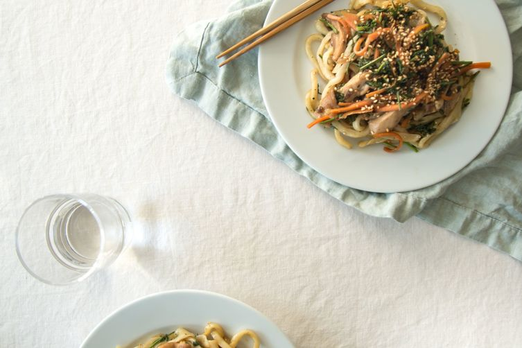 Low Waste Yaki Udon