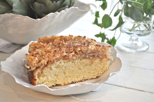 Caramelized Coconut Cake
