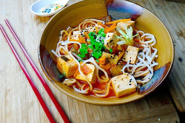 Korean style tofu stew