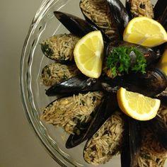 Stuffed Mussels - Mussels Dolmas