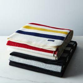 Revival Stripe Wool Throw