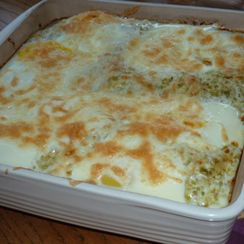 Breakfast Enchiladas with Roasted Tomatillo Sauce