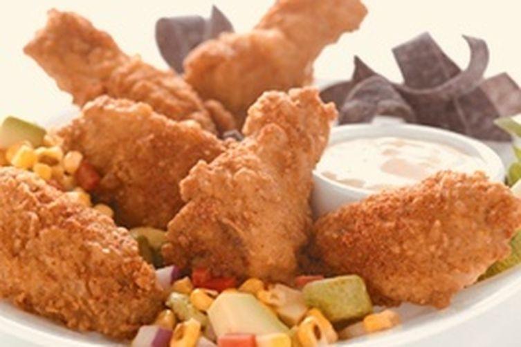 Chef Mo's Crispy Butter Milk Fried Chicken with Truffle Cream Sauce