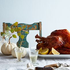 A Lemony, Gingery Roast Turkey for Something New on Thanksgiving