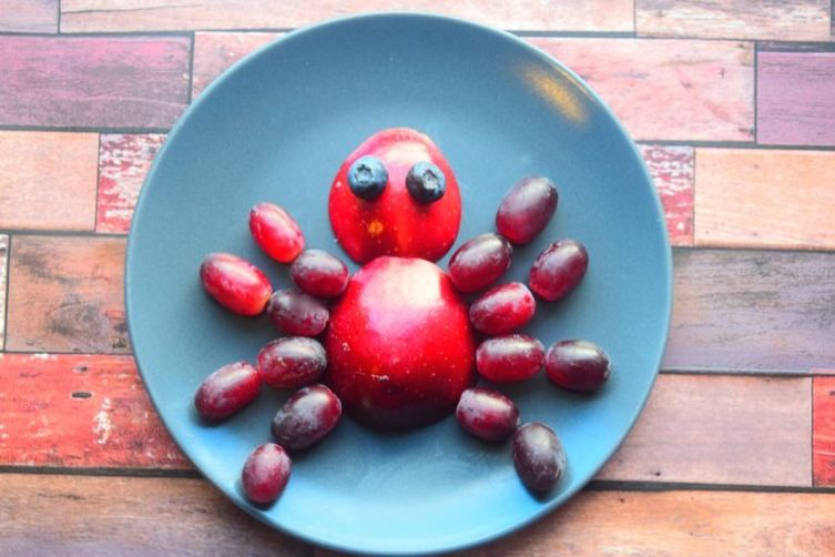 Spider Food Art