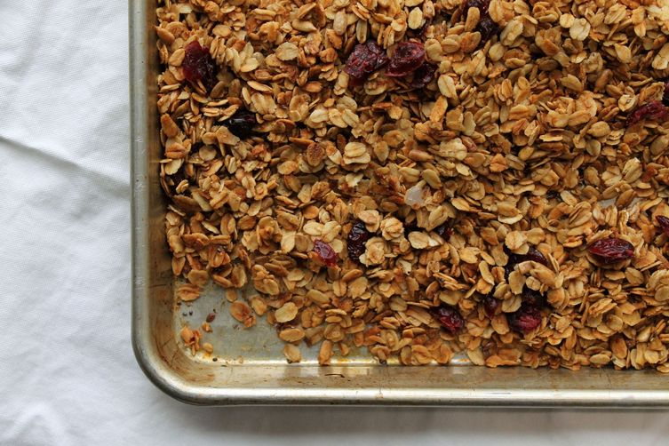 Maple + Olive Oil Granola