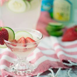 STRAWBERRY CUCUMBER REFRESHER