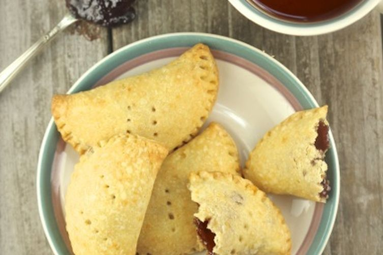 Jam-Filled Cheese Turnovers