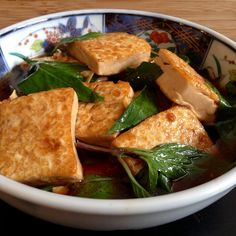 San Bei (Taiwanese Three Cup) Tofu and Ramen