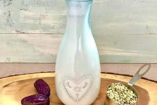 2 Ingredient Pure Vegan Hemp Milk