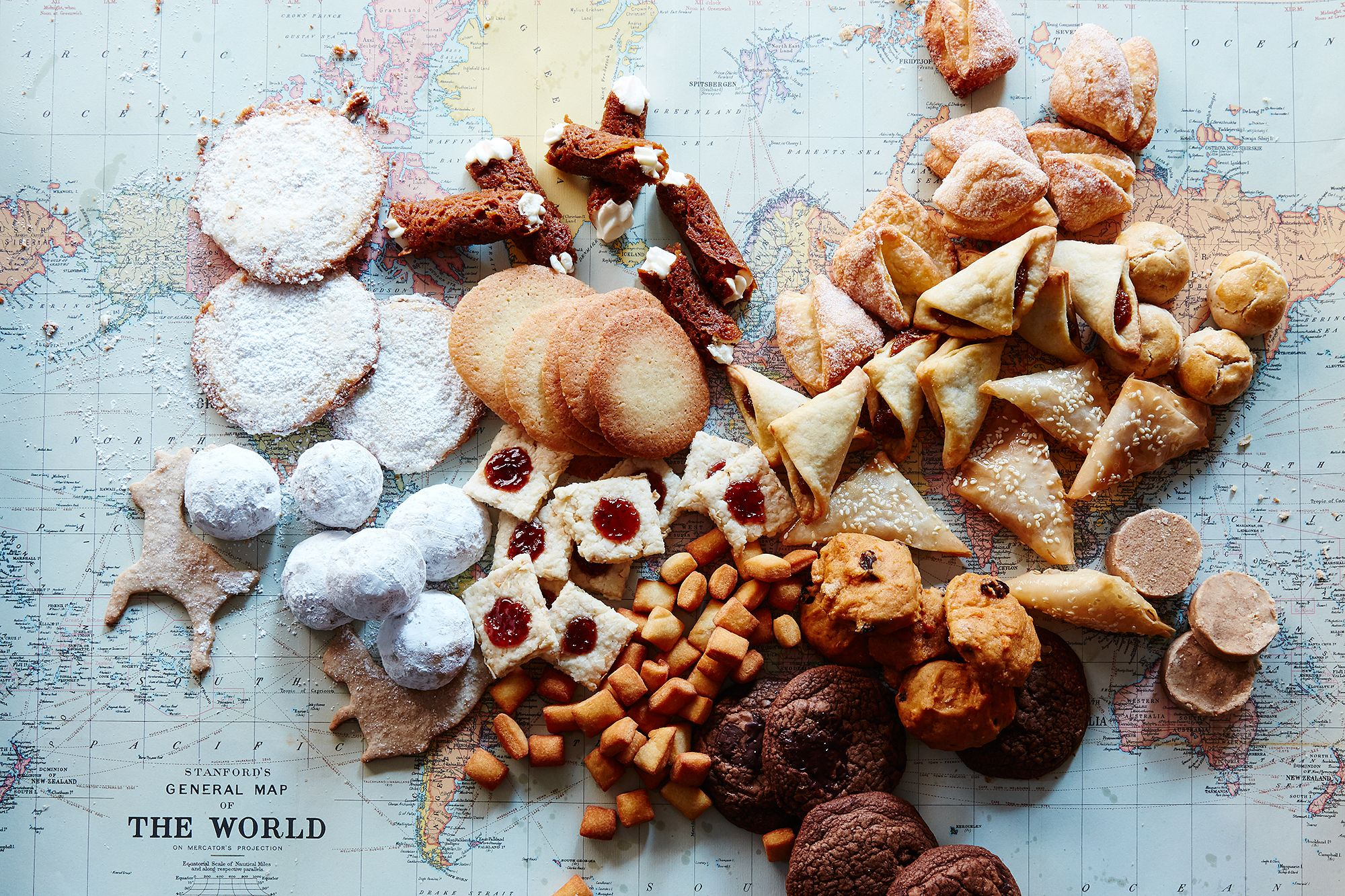 46 Cookie Recipes from Around the World
