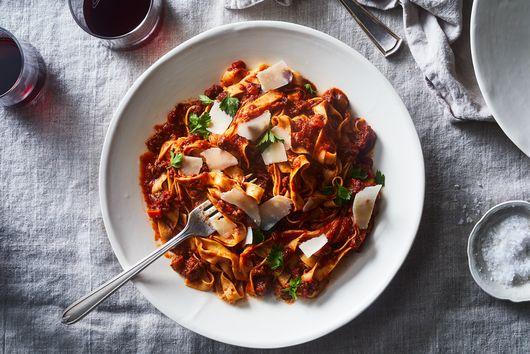 Instant Pot Tomato & Meat Ragu