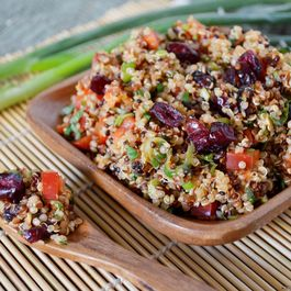 Lemon Cranberry Quinoa Salad