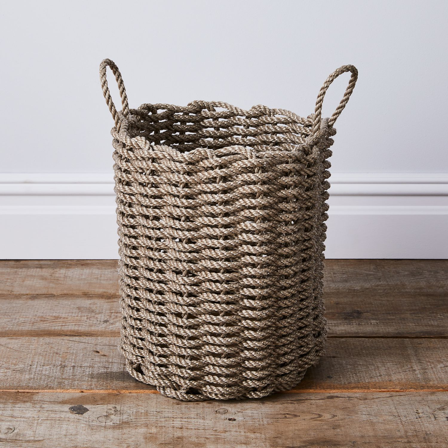 6 Tips For A Kitchen You Can Love For A Lifetime: Nautical Rope Storage Bin On Food52