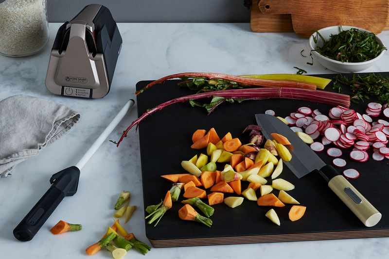 All the vegetables! All the knife cuts! (Just make sure you've sharpened up.)