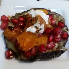 ESP Eggplant, Squash, Pomegrante