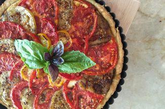 9eb9193c b17e 4bfa bdc0 4a8bf15388e6  baked tart with basil