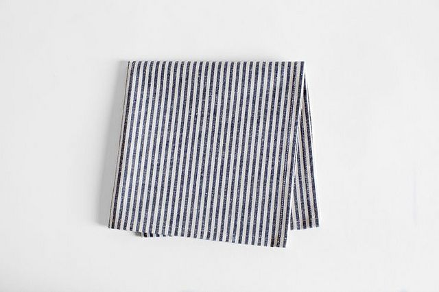 Striped napkin