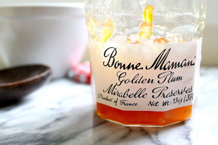 Golden Plum Preserves Ice Cream