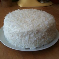 Pineapple Coconut Layer Cake