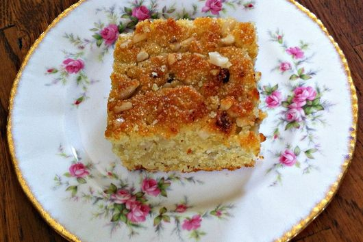 Semolina cake (taditional Greek/Cypriot)