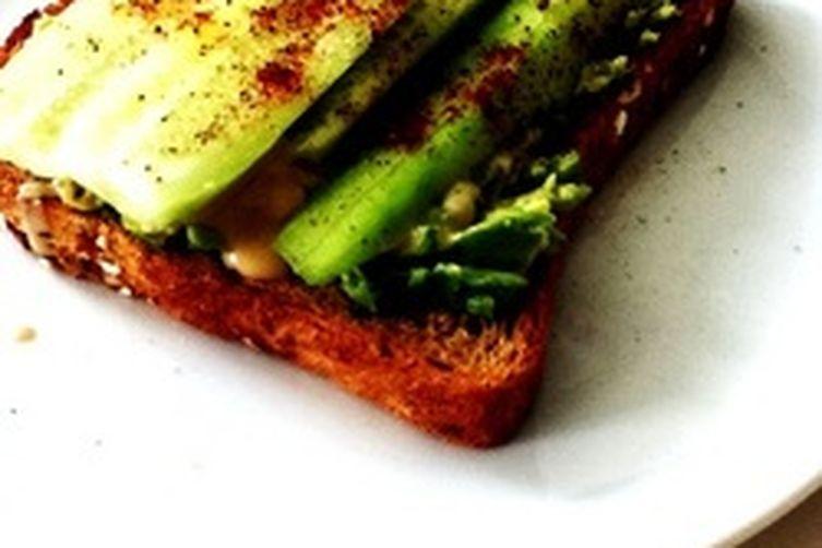 An Extraordinary Cucumber Sandwich