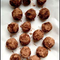 Vegan Passion Fruit Truffles