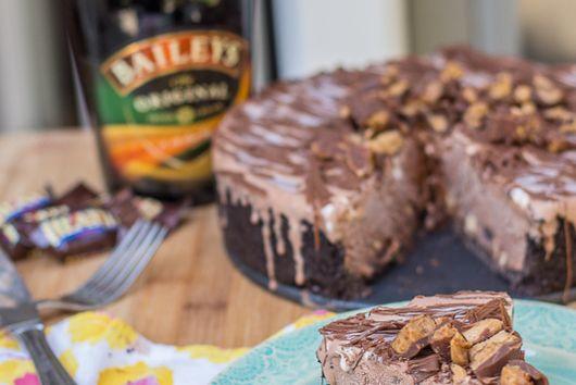 Bailey's Double Chocolate Ice Cream Cake