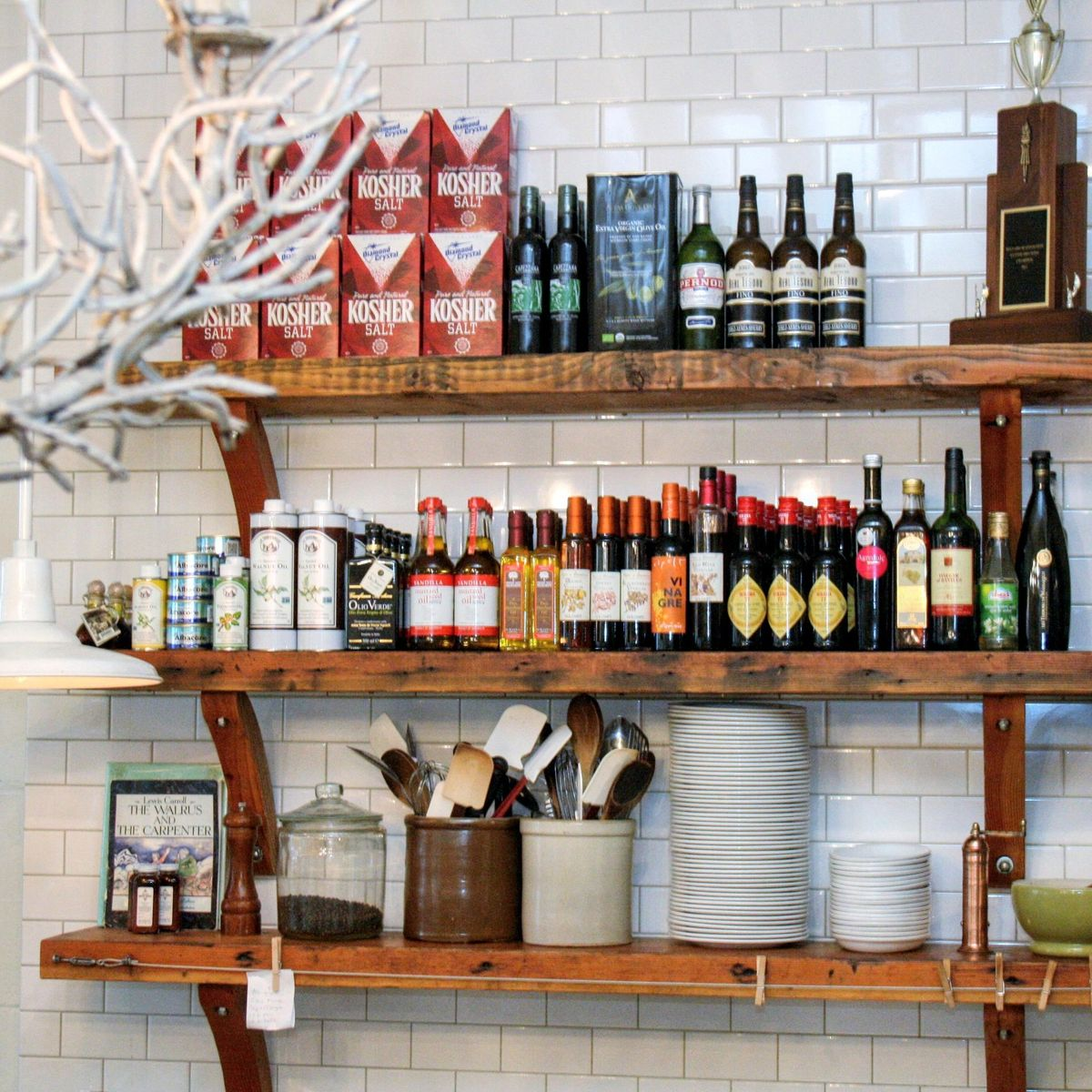 Restaurant pantry tips were stealing for our own kitchens