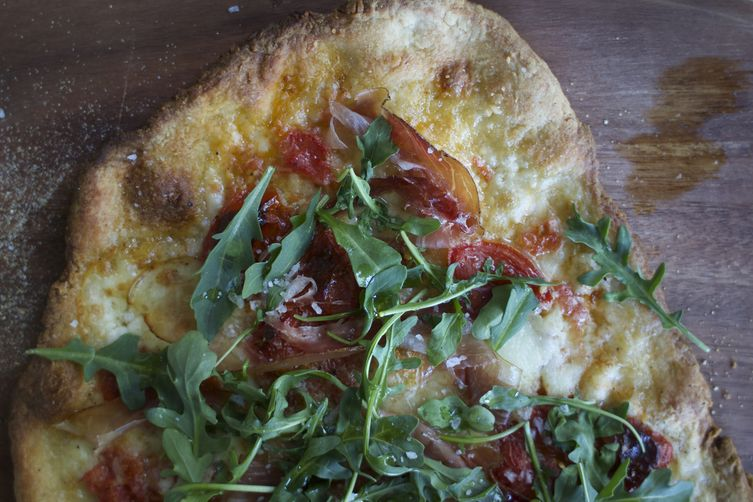 Speck and Arugula