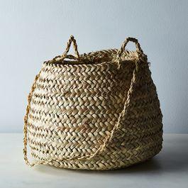 Handwoven Moroccan Hanging Basket