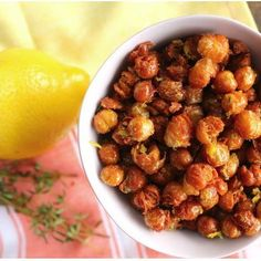 Crispy (Fried) Chickpeas