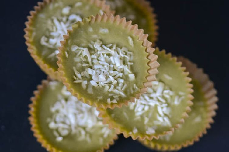 Green tea coconut butter cups