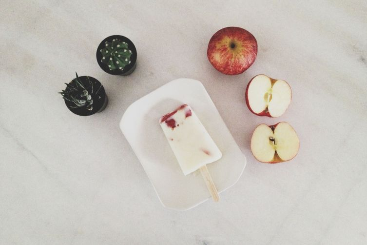 Apple Yogurt Ice Pops