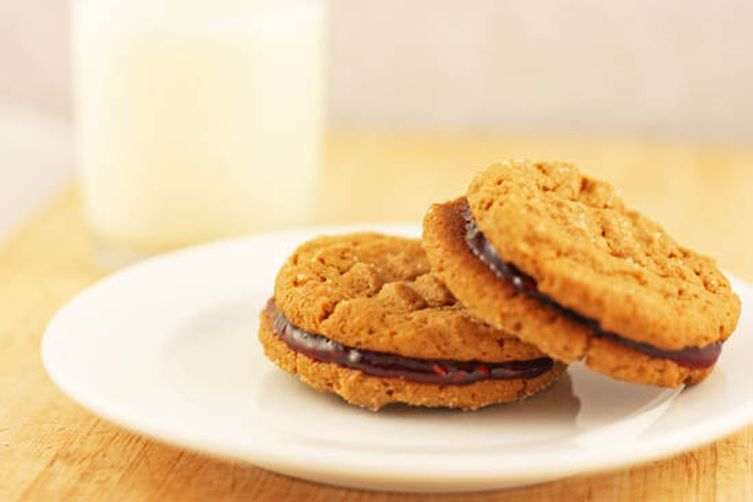 Peanut Butter and Jelly Sandwich Cookies Recipe on Food52