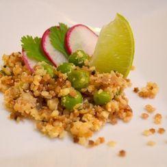 Stellini 'Upma' with Roasted Cauliflower couscous