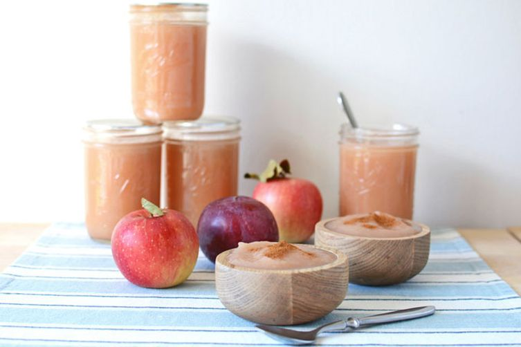No-Sugar-Added Canned Applesauce