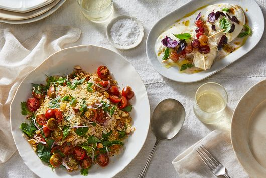 A Simple, Make-Ahead Menu from Ottolenghi's Latest Cookbook