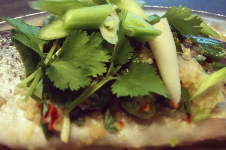 Foiled-Baked Trout with Thai Dressing