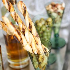 Cheese Straws a la Puttanesca